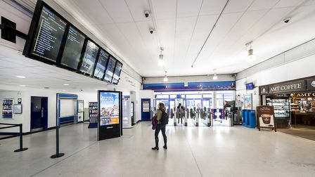 After the revamp, the concourse will be two storeys. Picture: Peter Alvey