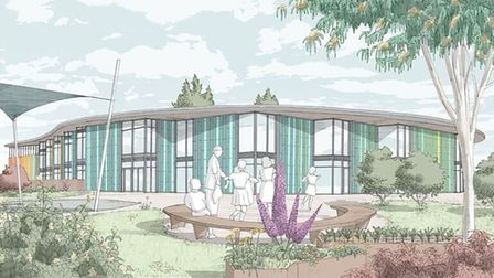 A visual impression of what the school at Wintringham will look like.