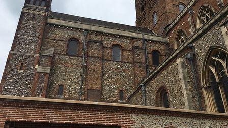 St Albans Cathedral's new welcome centre. Picture: Anne Suslak