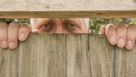 A well planned garden can help keep nosy neighbours at bay. Picture: iStock/PA