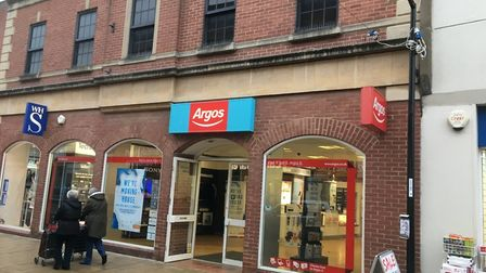 Argos closed its branch in Huntingdon High Street and moved to Sainsbury's earlier this year.