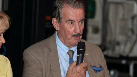 St Albans Comic-Con 2019: John Challis, aka Boycie from Only Fools and Horses.