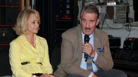 St Albans Comic-Con 2019: John Challis, aka Boycie, and Sue Holderness as Marlene from Only Fools an