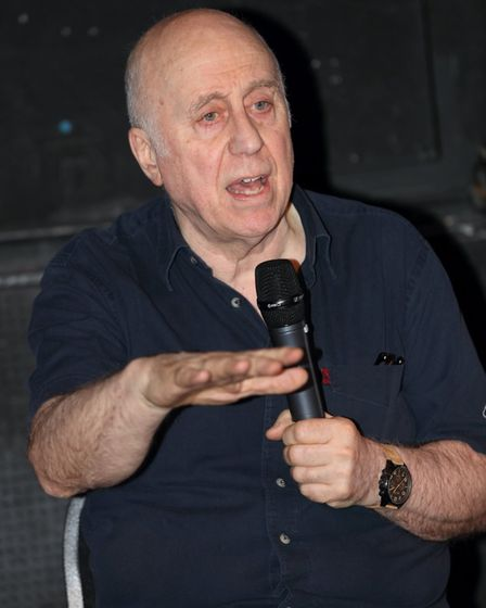 St Albans Comic-Con 2019: Norman Lovett from Red Dwarf.