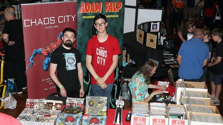 St Albans Comic-Con 2019: Chaos City Comics from St Albans
