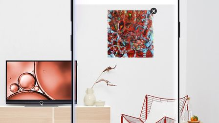ArtSee App allows you to visualise the layout and look of art on your wall. (£9.99 to download on iO