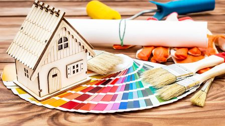 Visualising how a space will look can be tricky without app assistance. Picture: iStock/ PA