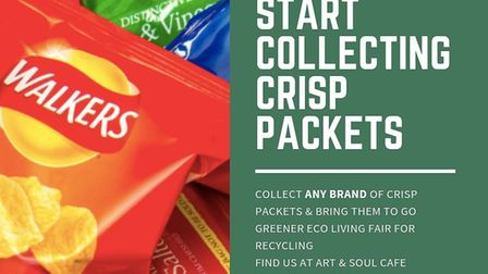 Take your crisp packets along to the Green Fair in St Neots on July 27