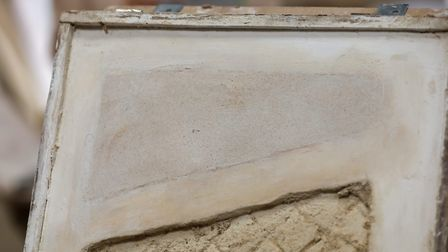 The Herts Advertiser's Franki Berry undertakes the Lime Plaster for Beginners course by Roy Cafferty