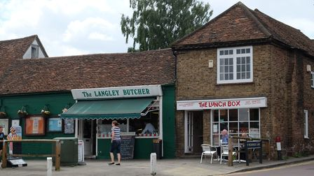The Langley Butcher and The Lunch Box are two of the attractions on High Street. Picture: Danny Loo