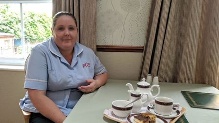 Nicola Eggerton from Clare Lodge in St Albans is celebrating The Good Care Month in Herts. Picture: