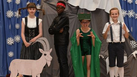 A Cromwell Academy production of Dragon Days. Picture: ARCHANT