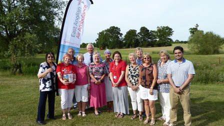 Heydon Grange Golf and Country Club has held charity fundraisers for their 25th anniversary. Picture