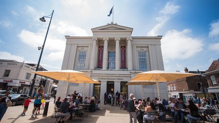 St Albans Museum + Gallery on its opening weekend last year. Picture: Elyse Marks