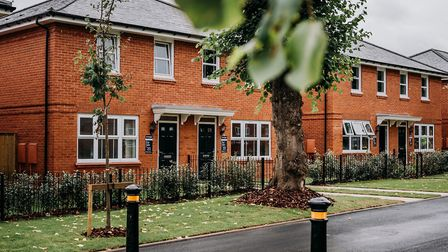 The Harperbury Park development consists of 206 three and four bedroom homes. Picture: Mark Averill