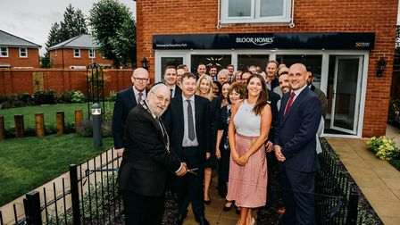 The Mayor of Hertsmere conducted the official opening of the Harperbury Park development on July 19.