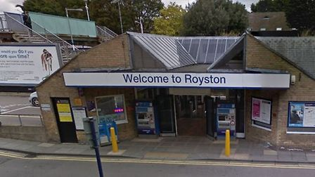 There are currently no trains running between Royston and Cambridge. Picture: Google Street View