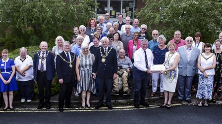Celebrating 10 years of the Huntingdonshire Volunteer Centre. Picture: MARK BUNTING