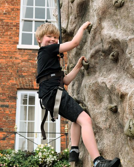 BID Huntingdon hosted a Fun Day on the town's Market Square. Picture: ARCHANT