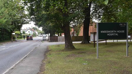 Kneesworth House Hospital in Old North Road has been rated as 'inadequate' by the Care Quality Commi