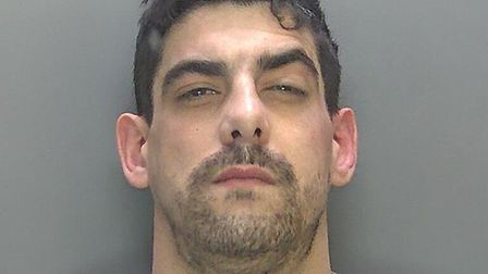 Michael Esaw has been jailed for his part in the attempted robbery of three stores