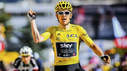 Geraint Thomas was the winner of the 2018 Tour de France and finished second in the 2019 edition. Pi