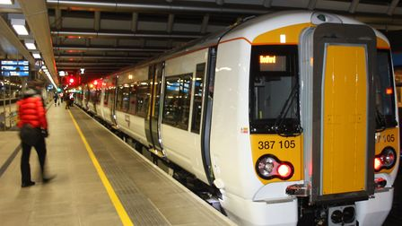 Thameslink services running from St Albans City to London St Pancras may be cancelled or delayed. Pi