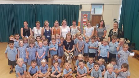 Tina Smith has retired from Icknield Walk First School after 15 years. Icknield Walk First School