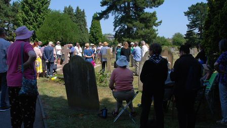 Fleetville Diaries held an event to commemorate the life of St Albans' Henry Frederick Conrad Sander