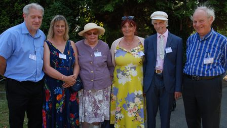 Various members of the Moon and Sander families at the event. Picture: Wendy Hyams