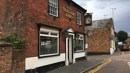 The Verulam Arms on Lower Dagnall Street in St Albans. Picture: Archant