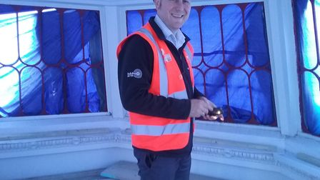 Jon Allworth is up for Construction Manager of the Year at the Chartered Institute of Building Award