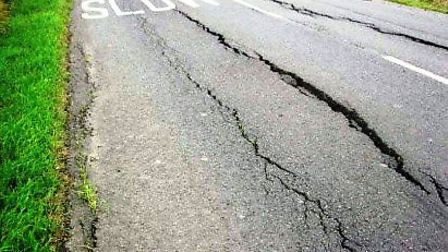 Drought can have a severe impact on fen roads. Picture: CONTRIBUTED.
