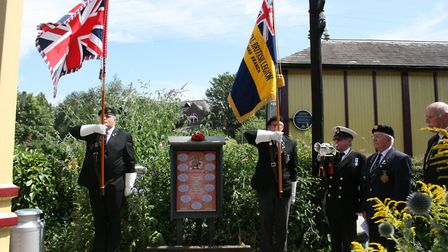 A memorial panel has been installed at the St Albans Signal Box Trust. This memorial also features i