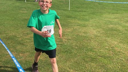 Oliver Goddard from St Albans won two medals in the British Transplant Games 2019. Photo: Jane Godda