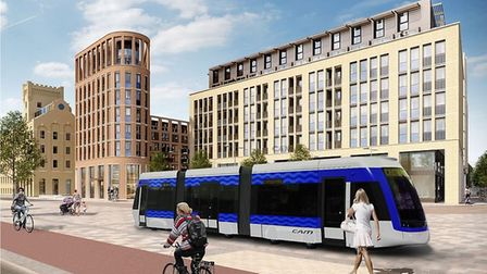 An artists impression of what the new metro could look like