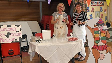 The launch of Elizabeth Price's new book in Earith. Picture: ARCHANT