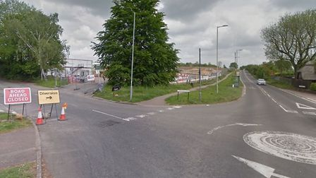 There will be traffic lights near the new Katherine Warington School junction. Picture: Google Maps