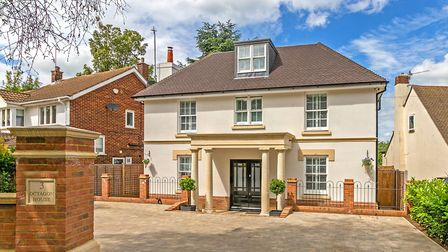 Octagon House, Marshalswick Lane, St Albans. Picture: Cassidy & Tate