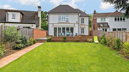 The property has a low maintenance rear garden. Picture: Cassidy & Tate
