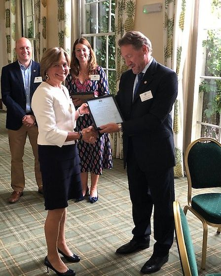 Kate Holland-Hibbert was one of the six new deputy lieutenants appointed to assist the Lord-Lieutena