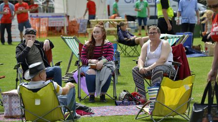 Hundreds of people attended Buckfest. Picture: DUNCAN LAMONT