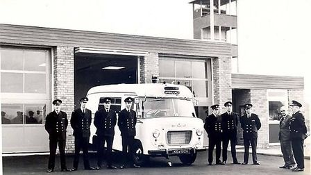 The opening of the St Neots Ambulance Station in 1969