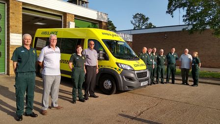 St Neots Ambulance Station reunion in June