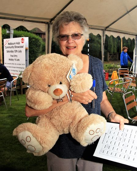 Melbourn Community Showcase 2019: This teddy was up for grabs. Picture: Clive Porter