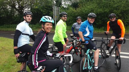 The St Columba's College cycling team pedalled from Lille to Lyon - 500 miles in six days - for the