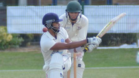Another terrific Nick Kumpukkal display could prevent St Ives & Warboys from being beaten at Ufford