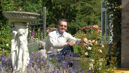 David Cox often opened his garden to the public. Picture: ARCHANT