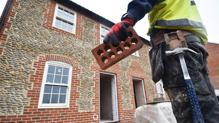 There was an increase in house-building in Huntingdonshire last year. Picture: ANTONY KELLY