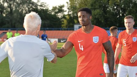 St Albans City's David Longe-King played for England C against Estonia. Picture: DAVID LOVEDAY